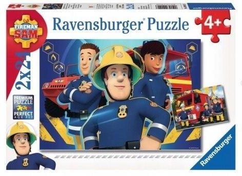 Puzzle 2x24 elementy - Strażak Sam (090426)
