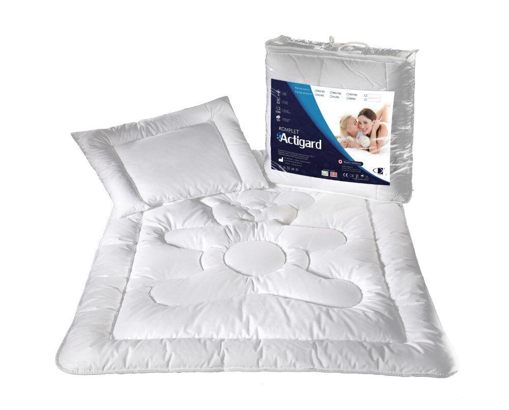 Kołdra dziecięca ActiGard 90x120+poduszka 40x60 Program Zdrowie AMW