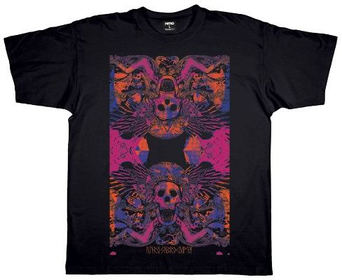 Nitro męski T-shirt BLACK MAGIK, faded black, L, 1121-872911_1107