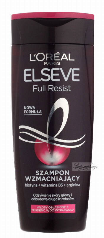 L''Oréal - ELSEVE - FULL RESIST - Wzmacniający szampon do włosów osłabionych i łamliwych - 250 ml