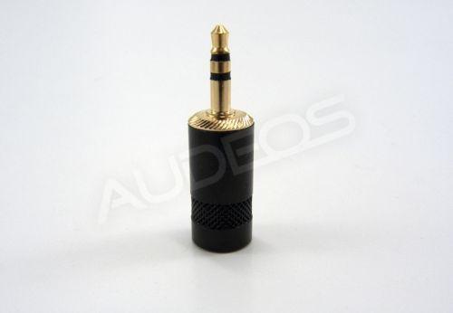 Neutrik / Rean NYS231BG-LL wtyk mini jack 3.5mm TRS stereo (szeroki wlot)