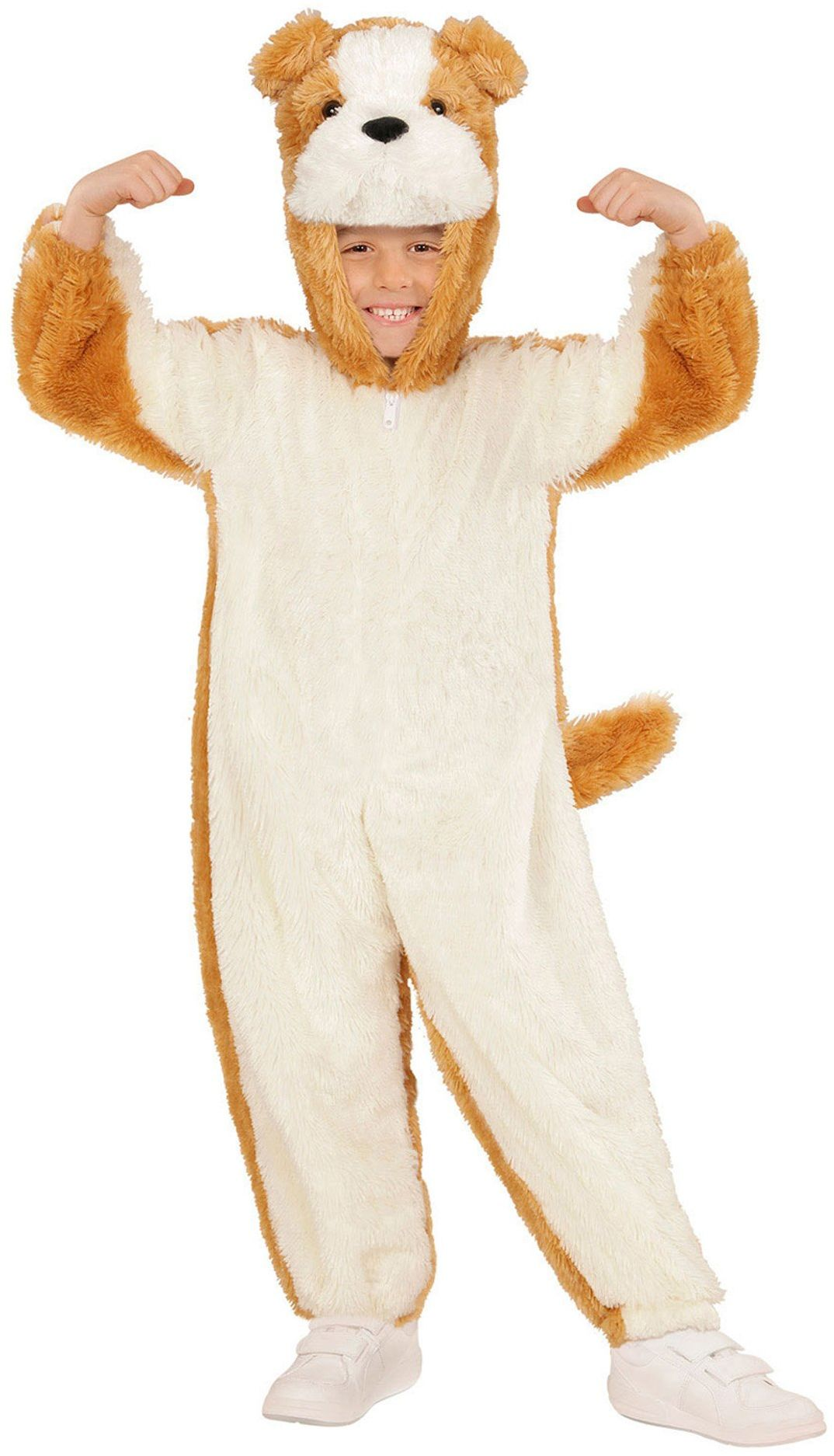 Widmann 11008486 kostium dziecięcy pies z pluszu, 113 cm