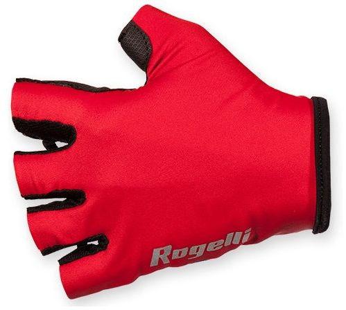 ROGELLI BELCHER - rękawiczki rowerowe, czerwone Rozmiar: S,rogelli-belcher-red
