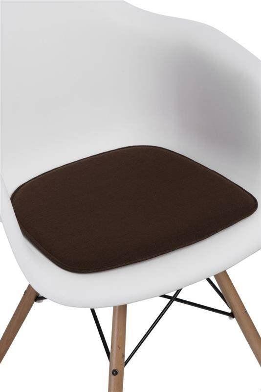 Intesi Arm Chair brązowa poduszka na krzesło