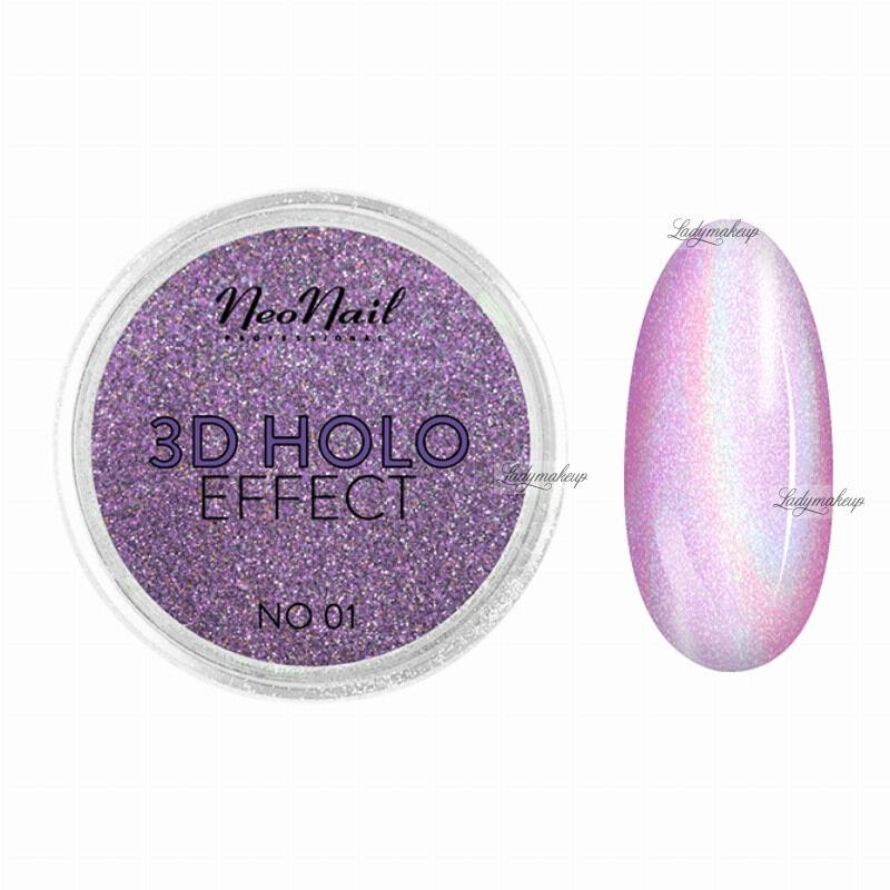 NeoNail - 3D HOLO EFFECT - Holograficzny, trójwymiarowy pyłek do paznokci - 5329-1