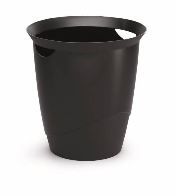 Kosz na śmieci DURABLE 16L czarny - X09967