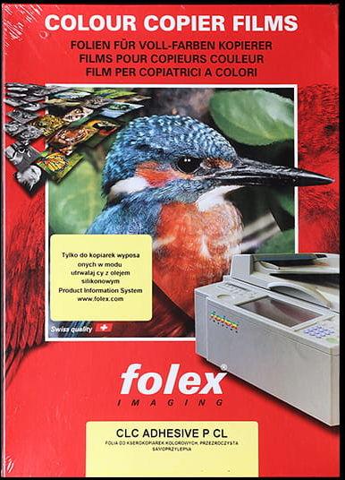 Folia samoprzylepna do drukarek laserowych CLC Adhesive P, grubość 0,10, 10ark , 42x29,7 cm przecena - 33%