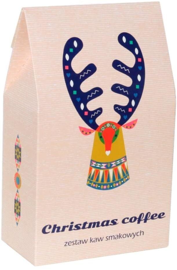 Świąteczny Bożonarodzeniowy Zestaw kaw - Christmas Coffee! - 10 wyjątkowych smaków kaw aromatyzowanych pakowanych po 10g