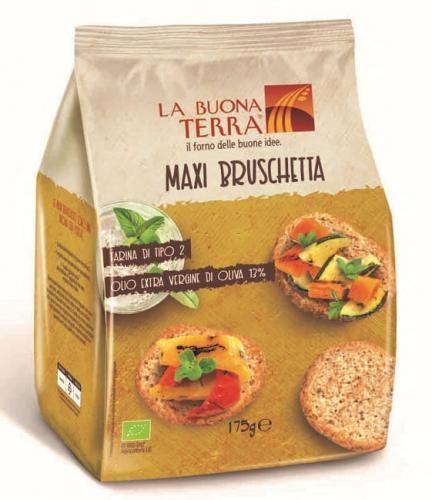 Pieczywo bruschetta z olwią z oliwek extra virgin BIO 175 g La Buona Terra