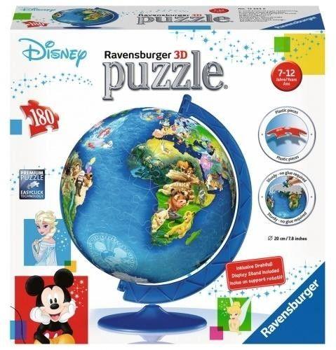 Ravensburger - Puzzle 3D Globus Disney 180 el. 123438