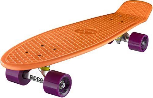 Ridge deskorolka Big Brother nikiel 69 cm Mini Cruiser, pomarańczowy/liliowy