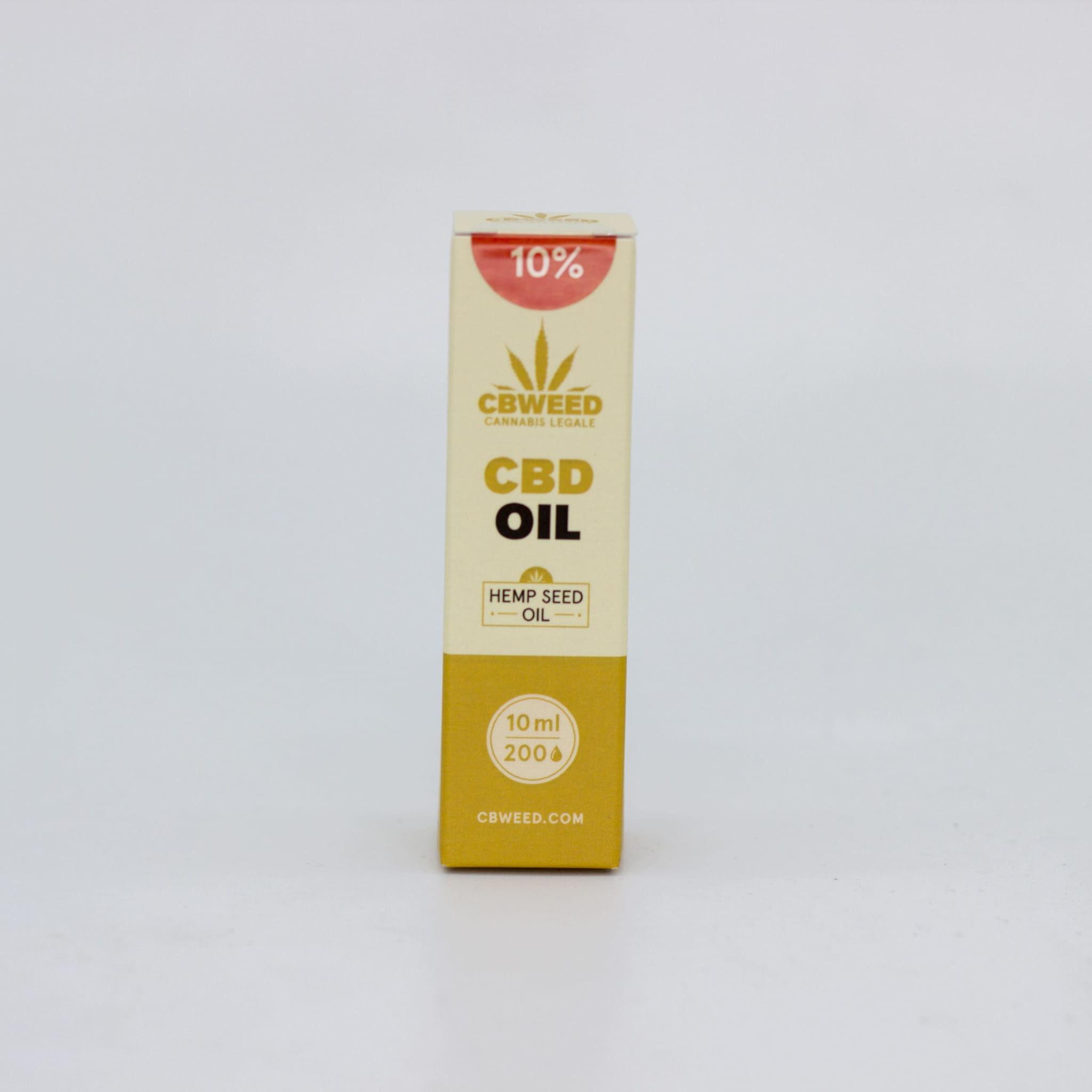 Olej CBD 10% CBweed by Cibdol Złoty olej 10ml