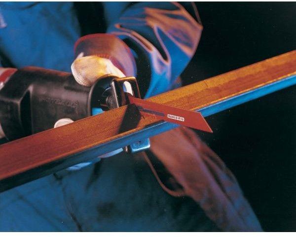 brzeszczot bagnetowy do piły szablastej, do drewna i metalu, 150mm, 5/8 zębów na cal, WOOD&METAL, Bahco [3940-150-5/8-SL-100P]