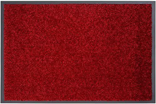 Carpido Clara mata na drzwi, polipropylen, czerwona, 80 x 60 x 0,9 cm