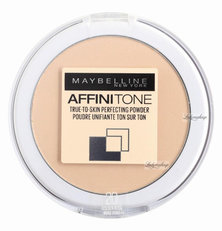 MAYBELLINE - AFFINITONE TONE-ON-TONE POWDER - Puder do twarzy - 20 - GOLDEN ROSE