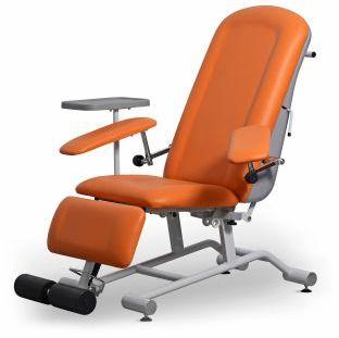 FoZa Basic Plus fotel zabiegowy uniwersalny do dializ lub badań oraz iniekcji i chemioterapii UBM