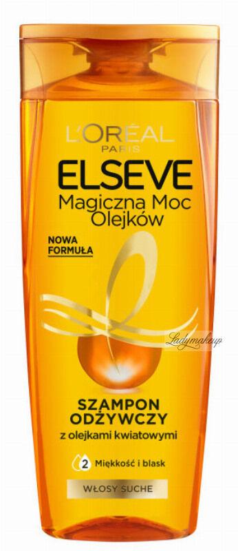 L''Oréal - ELSEVE - Magiczna Moc Olejków - Mocno odżywczy szampon do włosów suchych i matowych - 400 ml
