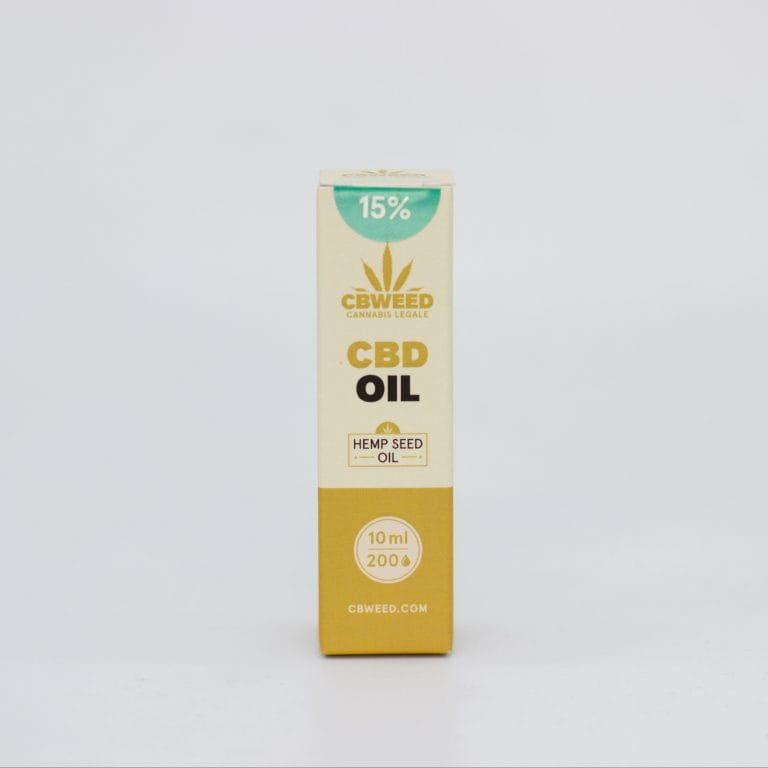 Olej CBD 15% CBweed Szwajcarski Złoty olej 10ml