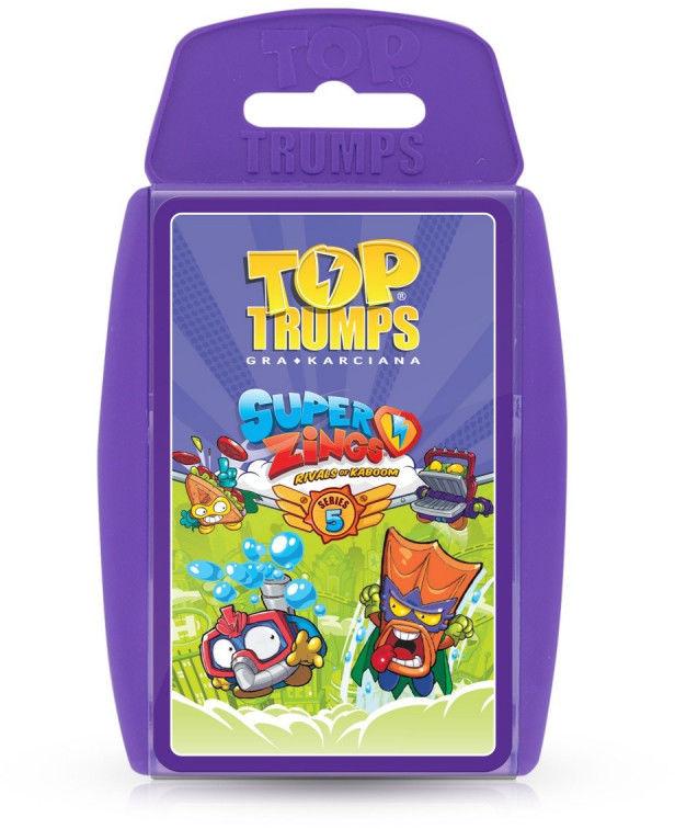 Gra Top Trumps Super Zings Seria 5 (GXP-747052)
