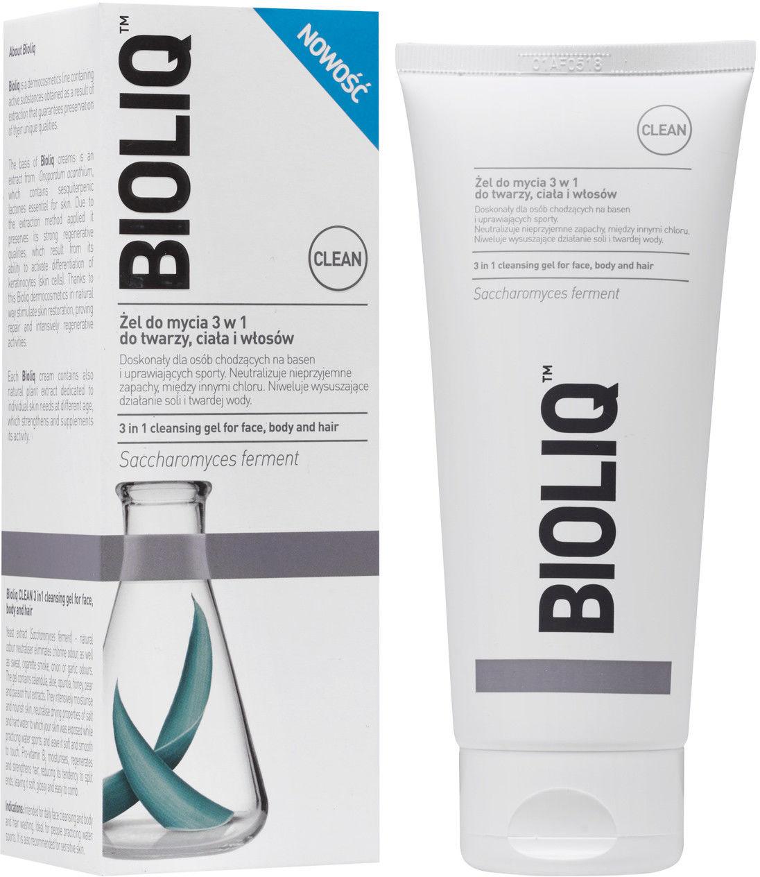 Bioliq clean żel 3w1 do mycia 180 ml
