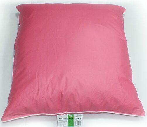 Poduszka Półpuchowa 40x40 Różowa Najtańsza