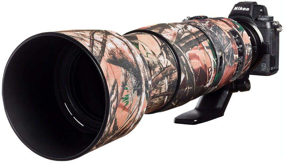Neoprenowa osłona easyCover na obiektyw Nikon 200-500mm f/5.6 VR kamuflaż las