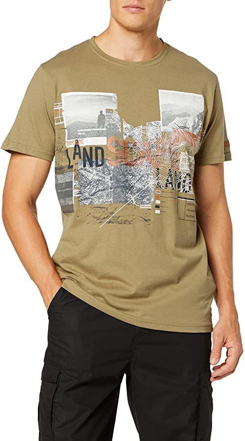 Regatta męska Cline Iii Coolweave koszulka z okrągłym dekoltem Dark Camel S