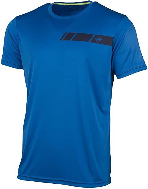 Dunlop Męska koszulka 71332-XL Club Line Crew koszulka, królewski niebieski, XL