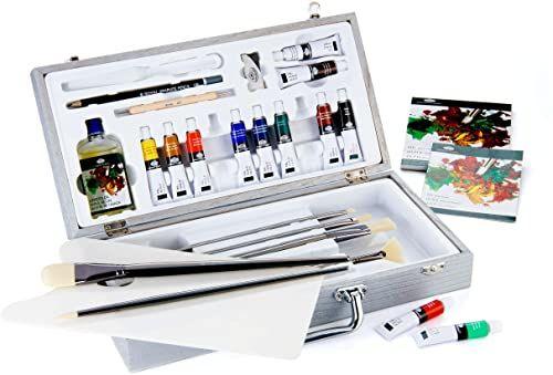 Royal & Langnickel Zen 27-częściowy obraz olejny artysta torba do przenoszenia zestaw pudełek