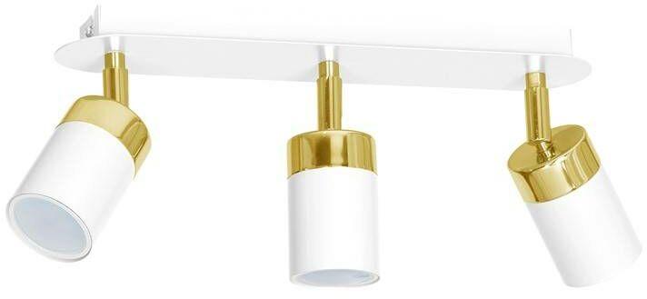 Lampa sufitowa JOKER WHITE/GOLD 3xGU10