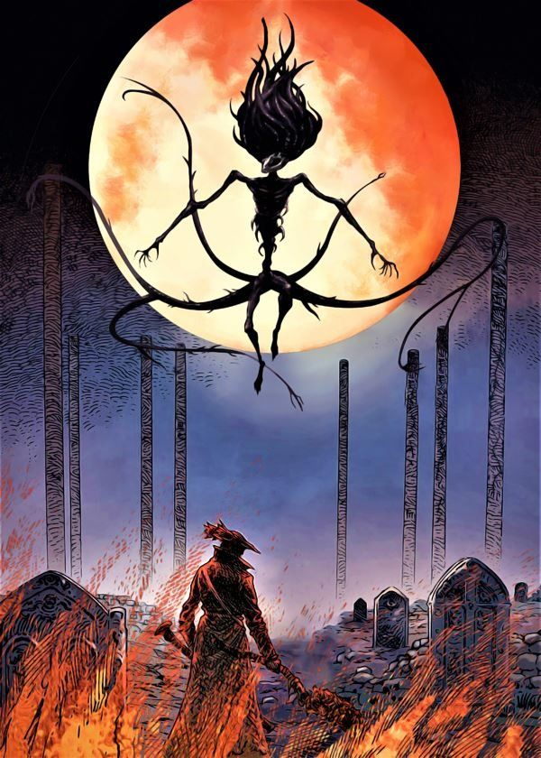 Bloodborne - the last hunt - plakat wymiar do wyboru: 21x29,7 cm