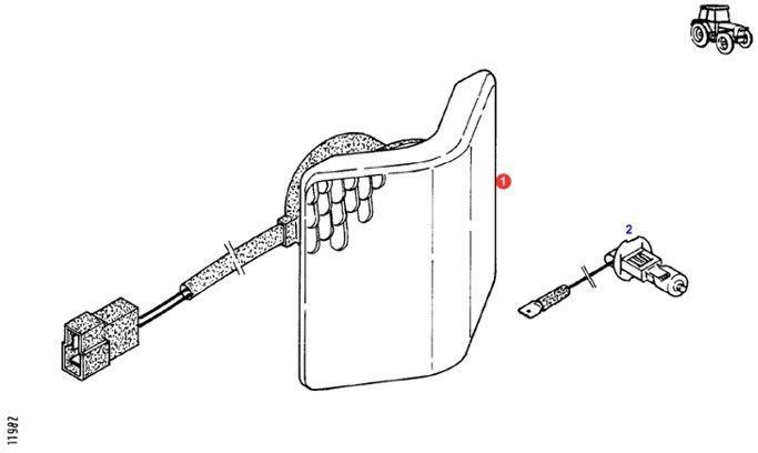 REFLEKTOR ROBOCZY FENDT G916901020010