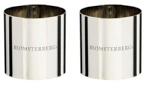 Blomsterbergs KITCHEN Stalowy Ring - Forma do Deserów 5 cm 2 Szt.