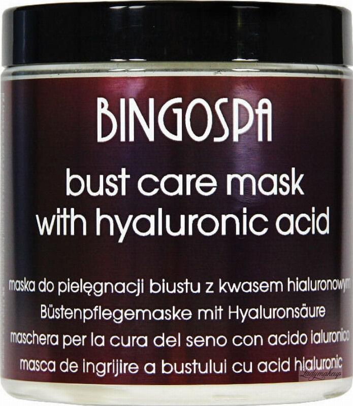 BINGOSPA - Bust Care Mask - Maska do pielęgnacji biustu z kwasem hialuronowym - 250 g