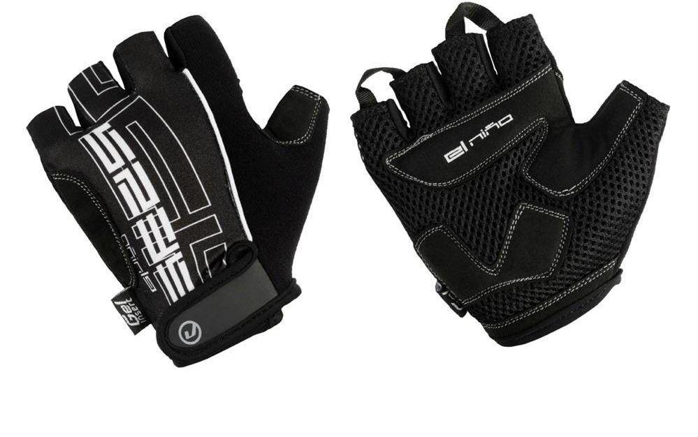 Rękawiczki El Nino czarno-białe XL