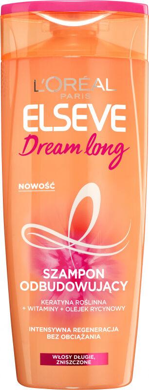 L''Oréal - ELSEVE Dream Long Shampoo - Odbudowujący szampon do włosów - 400 ml