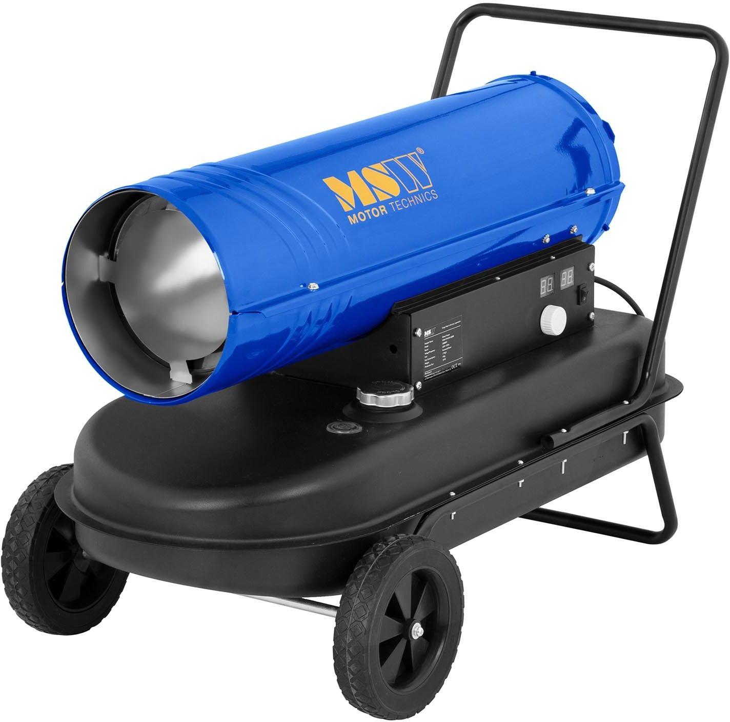 Nagrzewnica olejowa - 20 kW - 600 m/h - kółka - MSW - MSW-TW-DH-20000 - 3 lata gwarancji/wysyłka w 24h