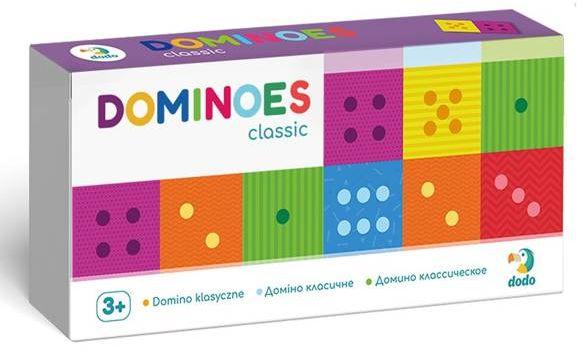 Gra Domino klasyczne DOG300225 - DODO