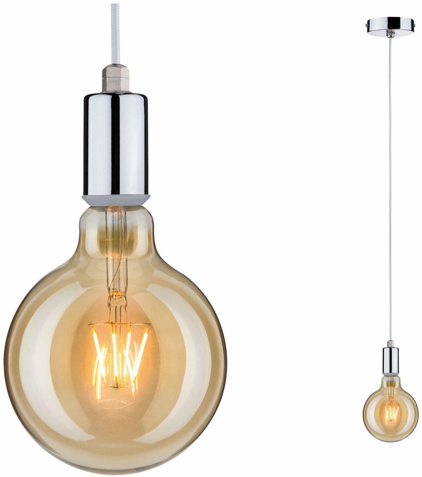 Paulmann 79753 lampa wisząca Larus maks. 20 watów IP44 lampa wisząca chrom lampa wisząca metal lampa wisząca E27