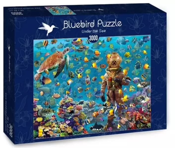Puzzle 3000 Pod wodą - Bluebird Puzzle