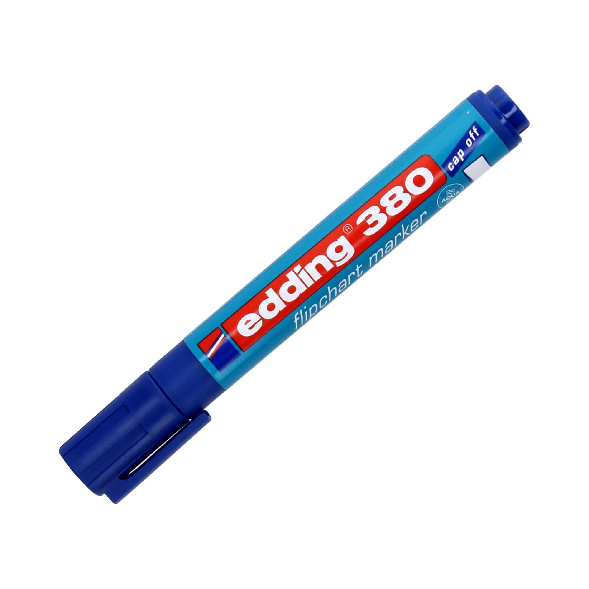 Marker flipchart 1.5-3.0mm niebieski okrągły Edding 380