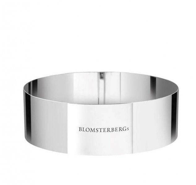 Blomsterbergs KITCHEN Stalowy Ring - Forma do Deserów 16 cm