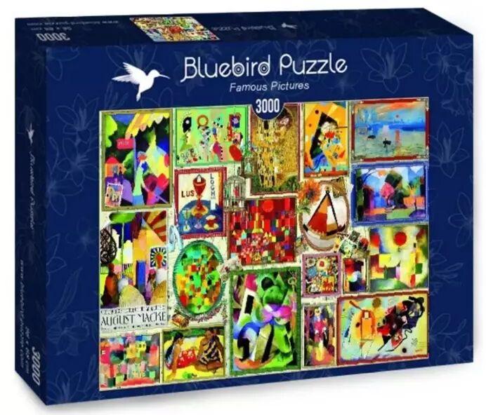 Puzzle 3000 Słynne obrazy - Bluebird Puzzle