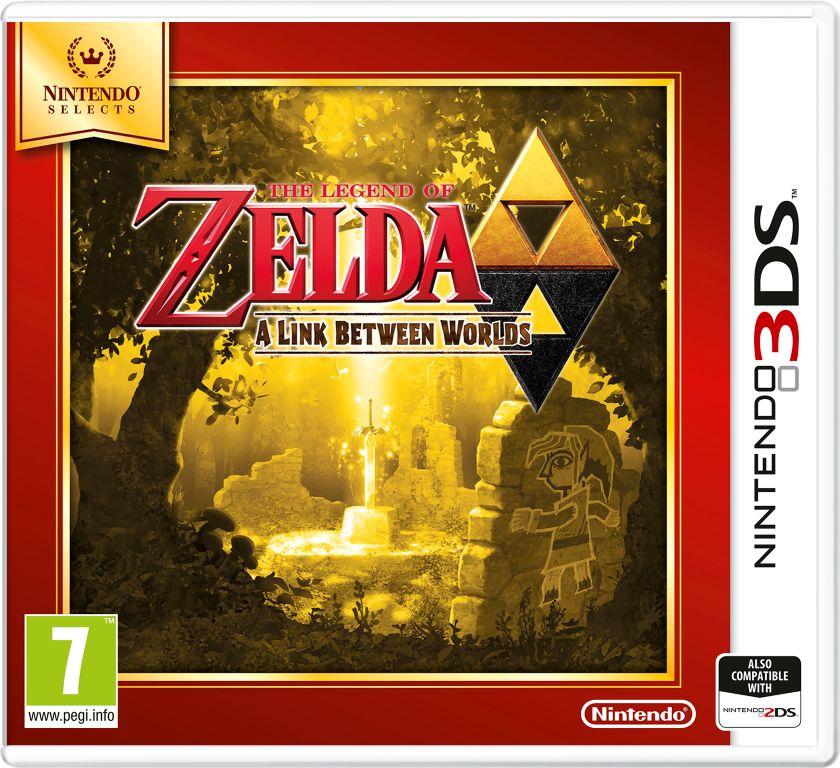 Gra The Legend of Zelda: A Link Between Worlds - Nintendo selects (3DS)