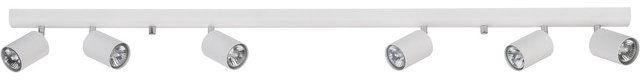 Listwa sufitowa Eye Spot 6607 Nowodvorski Lighting podłużna oprawa w kolorze białym