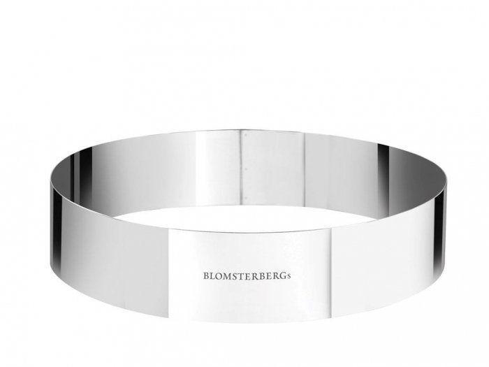 Blomsterbergs KITCHEN Stalowy Ring - Forma do Deserów 24 cm
