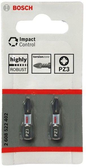 Bity Bosch PZ3 25 mm 2 szt.