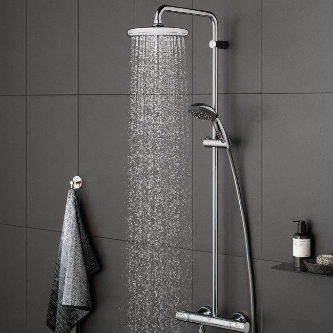 Kolumna prysznicowa Grohe Vitalio Start śr. 21 cm z baterią termostatyczną