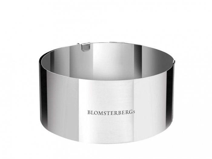 Blomsterbergs KITCHEN Stalowy Ring - Forma do Deserów - Regulowany 16,5 - 32 cm