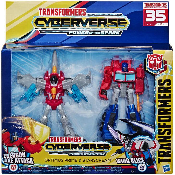 Hasbro Transformers Optimus Prime i Starscream E5557